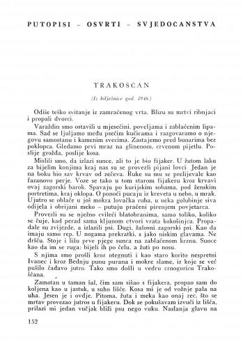 Trakošćan : Bulletin Instituta za likovne umjetnosti Jugoslavenske akademije znanosti i umjetnosti