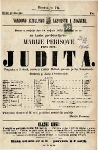 Judita tragedija u 5 činah / sastavio Fridrik Hebbel