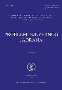 Sv. 13(2014) : Problemi sjevernog Jadrana