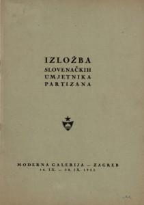 Izložba slovenačkih umjetnika partizana