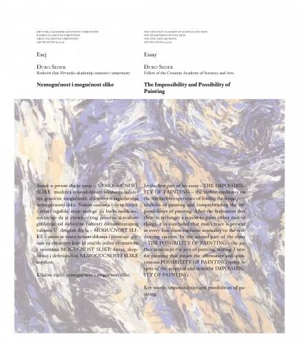 Nemogućnost i mogućnost slike : Art Bulletin