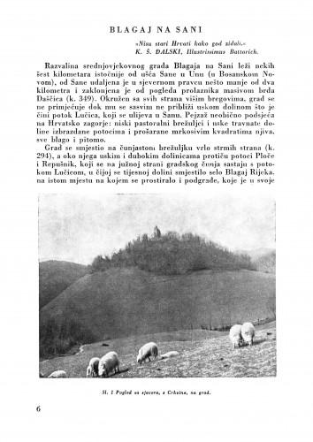 Blagaj na Sani : Bulletin Zavoda za likovne umjetnosti Jugoslavenske akademije znanosti i umjetnosti
