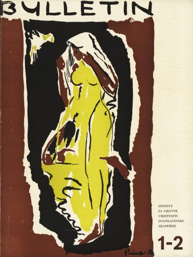 God. 1(1953), Br. 1-2 : Bulletin Instituta za likovne umjetnosti Jugoslavenske akademije znanosti i umjetnosti