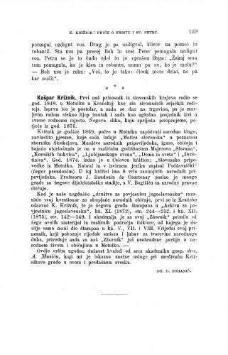 Kašpar Križnik. : Zbornik za narodni život i običaje