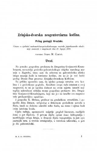 Zrinjsko-dvorska neogenterciarna kotlina