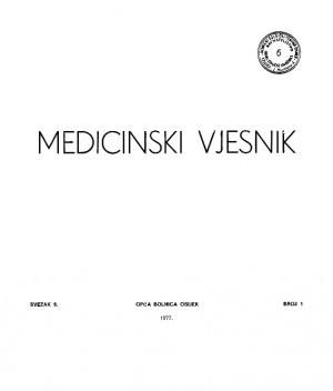 Sv. 9, br. 1 : Medicinski vjesnik