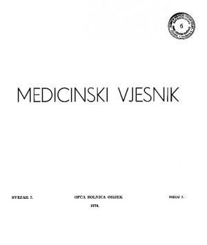 Sv. 2, br. 1 : Medicinski vjesnik