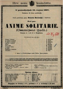 Anime solitarie Dramma in 4 atti / di G. Hauptmann
