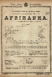 Afrikanka Velika opera u 5 činova / Glazba od Mayerbeera