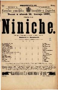 Niniche šaljiva igra u 3 čina / napisao A. Henequin i A. Millaud