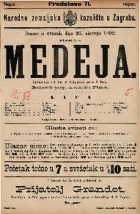 Medeja Žalobna igra u 4 čina / od Grillparcera
