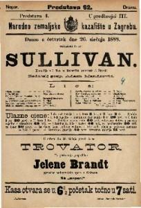 Sullivan Komedija u 3 čina / od Melesvilla