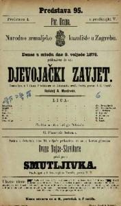 Djevojački zavjet vesela igra u 5 činah / s poljskoga od Aleksandra grofa Fredra