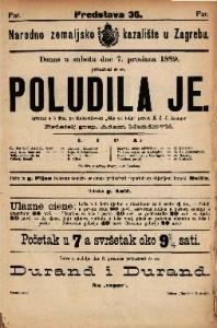 Poludila je Igrokaz u 3 čina / po Melesvillom