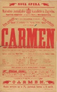Carmen : Opera u 4 čina / Uglasbio Georges Bizet