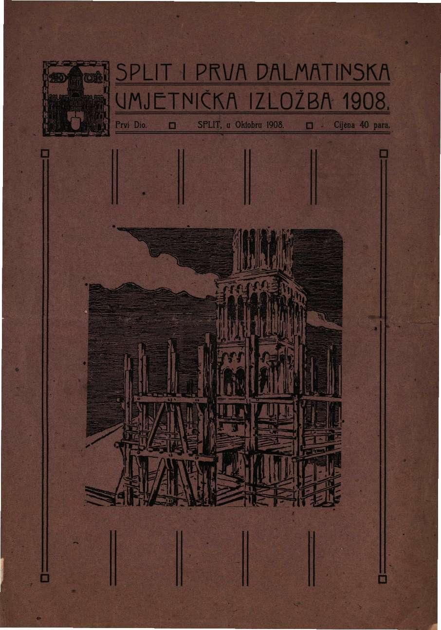 Split i Prva dalmatinska umjetnička izložba 1908.