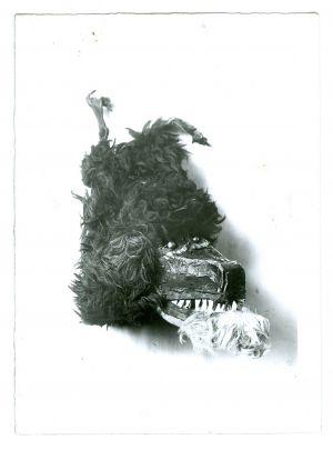 Maska (zvončarska maškara) [Gavazzi, Milovan (1895-1992) ]