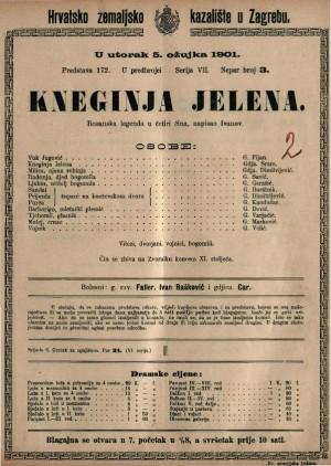 Kneginja Jelena bosanska legenda u četiri čina / napisao dr. Milivoj Dežman Ivanov