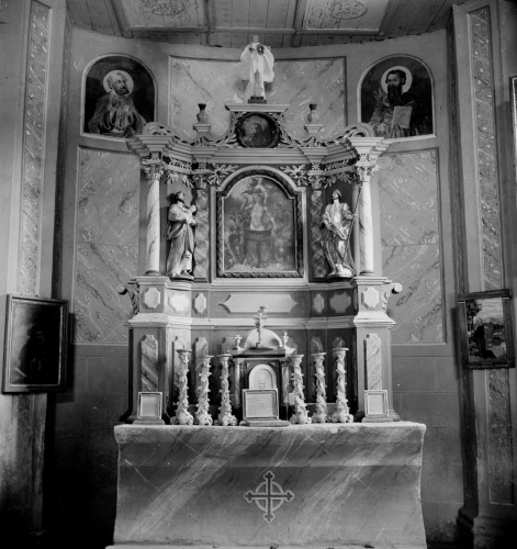Crkva Svetog Vida (Podgorje Jamničko) : glavni oltar, 1863. (Seidel) [Griesbach, Đuro  ]