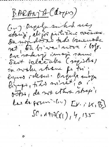 Baranja (dopis)