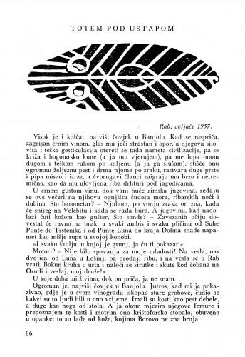 Totem pod uštapom : Bulletin Instituta za likovne umjetnosti Jugoslavenske akademije znanosti i umjetnosti