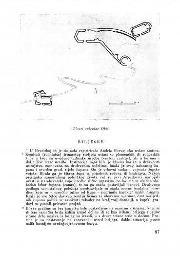 Osvrt na urbanizam Koprivnice : Bulletin Odjela VII. za likovne umjetnosti Jugoslavenske akademije znanosti i umjetnosti