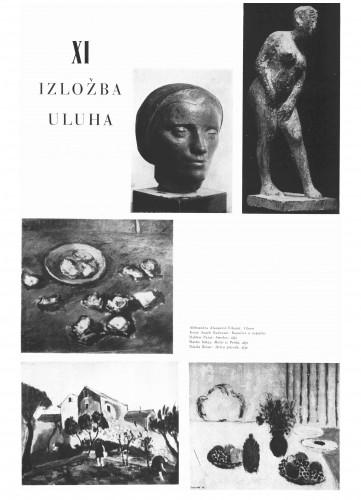 XI. izložba ULUHA : Bulletin Instituta za likovne umjetnosti Jugoslavenske akademije znanosti i umjetnosti