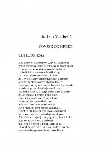 Čovjek od krede : Forum : mjesečnik Razreda za književnost Hrvatske akademije znanosti i umjetnosti.
