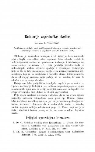 Rotatorije zagrebačke okolice