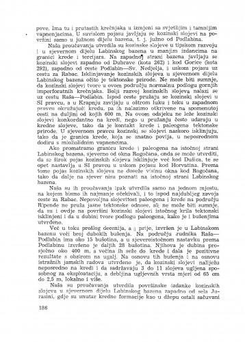 Izvještaj o geološkom proučavanju Labinskog bazena u Istri / M. Salopek