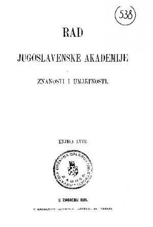 Knj. 58(1881) : RAD