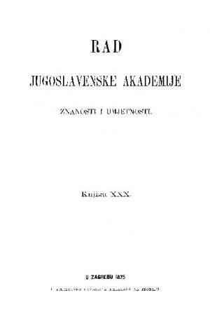Knj. 30(1875) : RAD