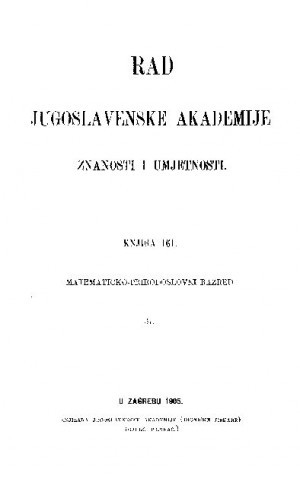 Knj. 37(1905) : RAD
