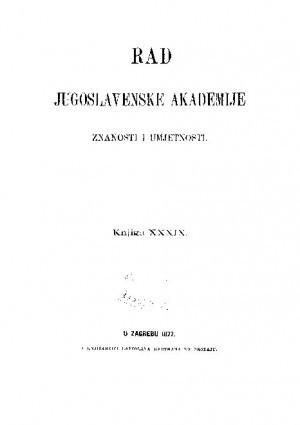Knj. 39(1877) : RAD