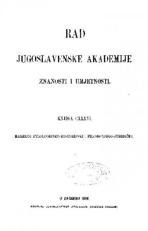 Knj. 50(1898) : RAD