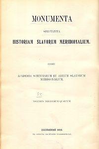 Pars 2 : Ab anno 1602. usque ad annum 1620. Additamenta e bibliotheca nationali parisiensi supplevit Vjekoslav Jelavić : Monumenta spectantia historiam Slavorum meridionalium