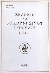 Knj. 53 (1995) : Zbornik za narodni život i običaje
