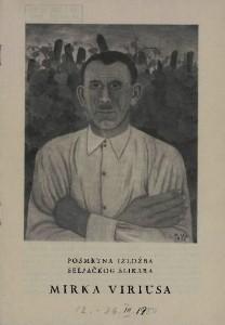 Posmrtna izložba seljačkog slikara Mirka Viriusa