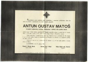 Osmrtnica A. G. Matoša