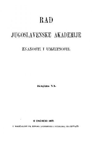 Knj. 6(1869) : RAD