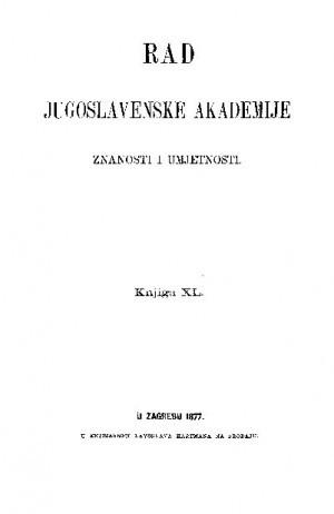 Knj. 40(1877) : RAD