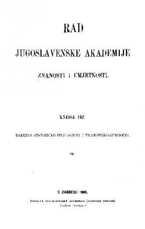 Knj. 64(1905) : RAD