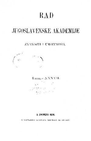 Knj. 37(1876) : RAD