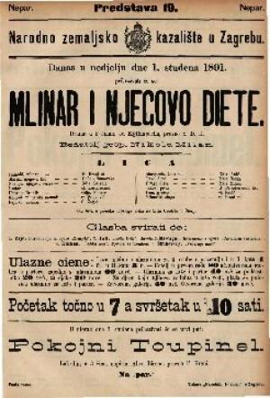 Mlinar i njegovo diete Drama u 5 činah
