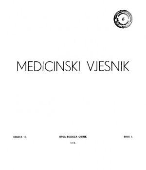 Sv. 11, br. 1 : Medicinski vjesnik