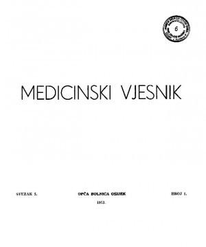Sv. 5, br. 1 : Medicinski vjesnik