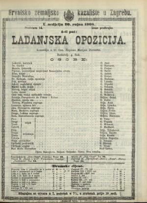 Ladanjska opozicija Komedija u tri čina