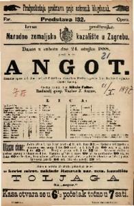 Angot : Komična opera u 3 čina