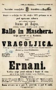 Ballo in Maschera Arija pjevat će g. Kašman