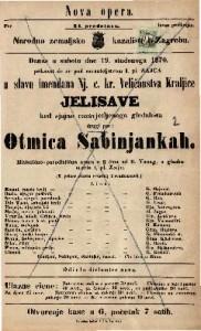 Otmica Sabinjankah Historično-parodistična opera u 3 čina